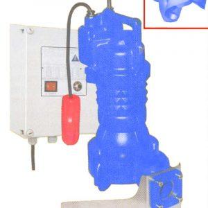 AGRIMAX-M - 230V Freestanding Cutter pump Agrimax brand for agricultural waste