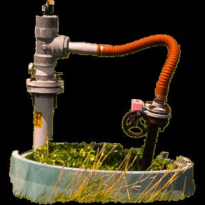 landfill water installation