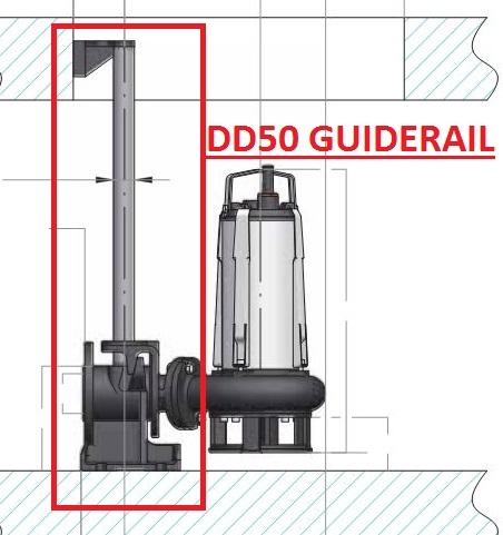 Semison DD50 Guiderail assemblies
